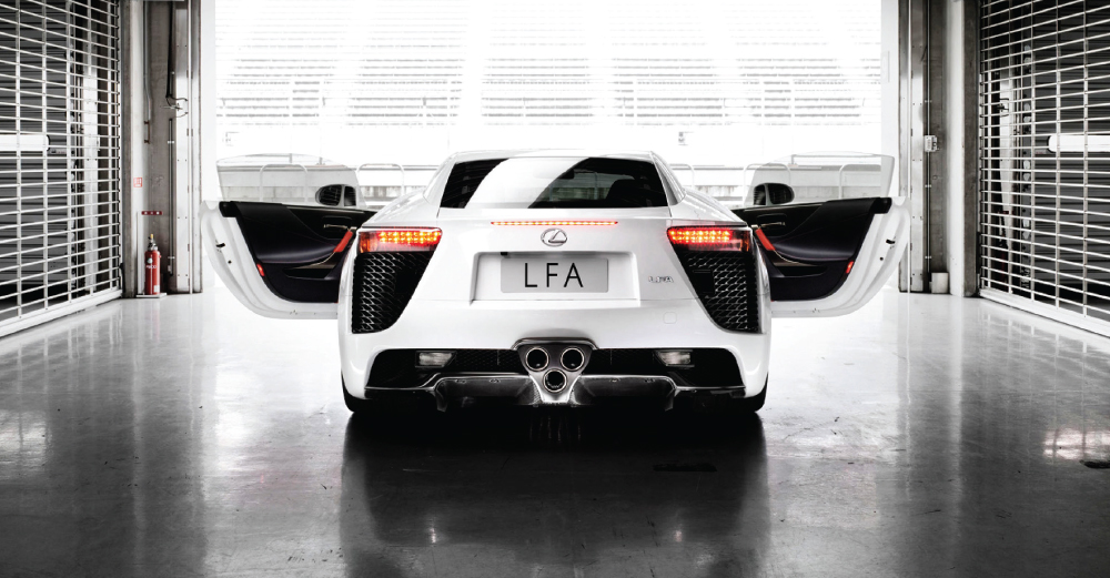 <p>A hand-built, race-tuned Lexus that redefines the boundaries of power-packed performance. </p>